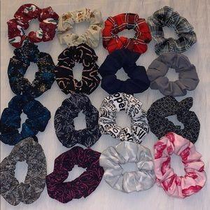 16 PC Custom Scrunchie Set